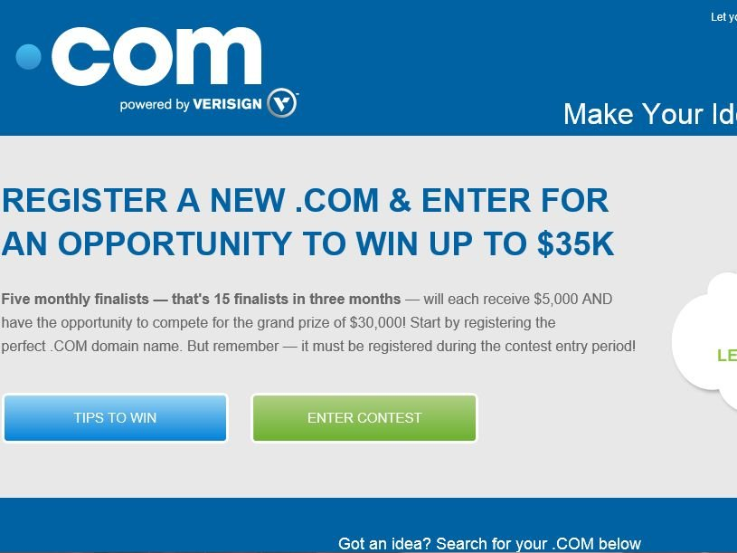 The VeriSign Internet Official Contest