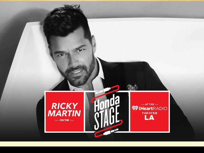 The iHeartRadio Ricky Martin Flyaway