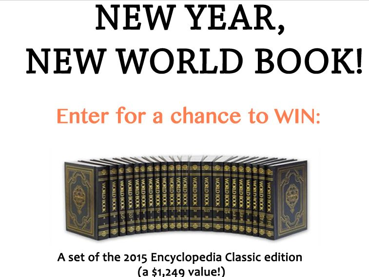 New Year, New World Book Sweepstakes