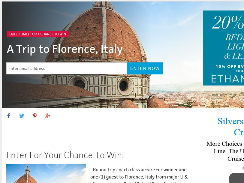 Travel Channel February 2015 Sweepstakes