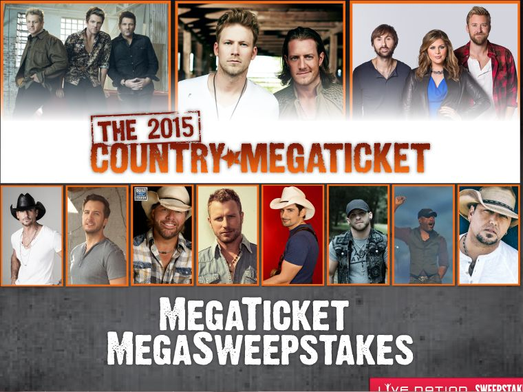 The 2015 Megaticket MegaSweepstakes Venue of Choice Giveaway