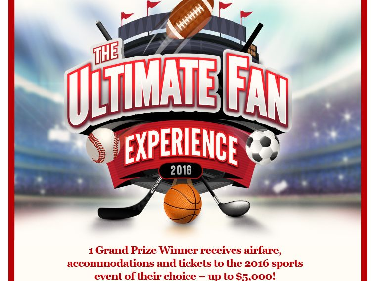 Buddig Ultimate Fan Experience Sweepstakes