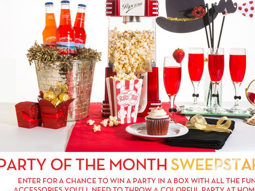 "The Seagram's Escapes ""Party of the Month"" Sweepstakes"