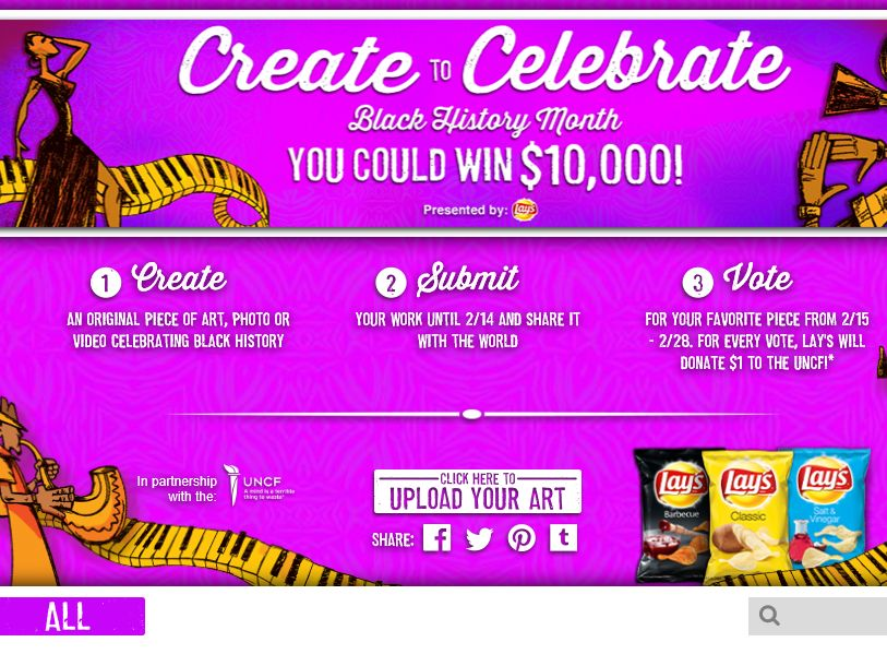 The 2015 Frito-Lay Black History Month Art Contest