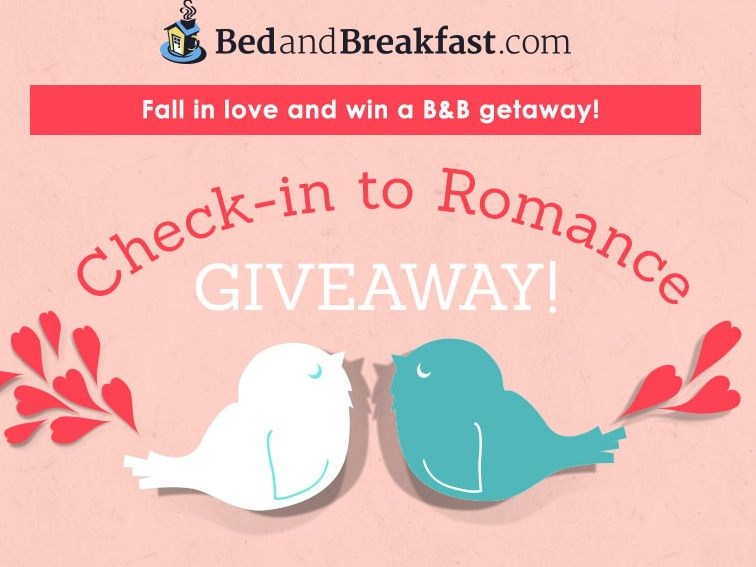 BedandBreakfast.com Check-in to Romance Giveaway