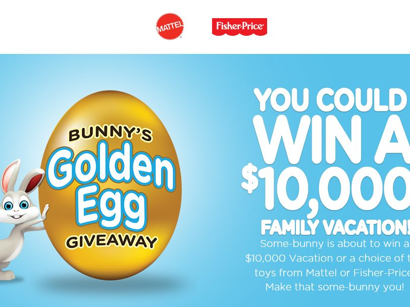 The Bunny's Golden Egg Giveaway