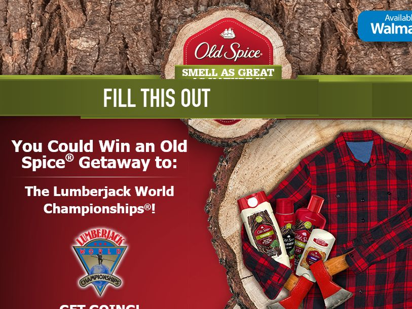 Old Spice Getaway Sweepstakes