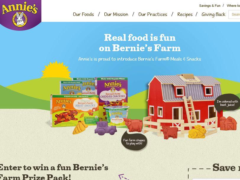 The Annie's Fun on Bernie's Farm Contest