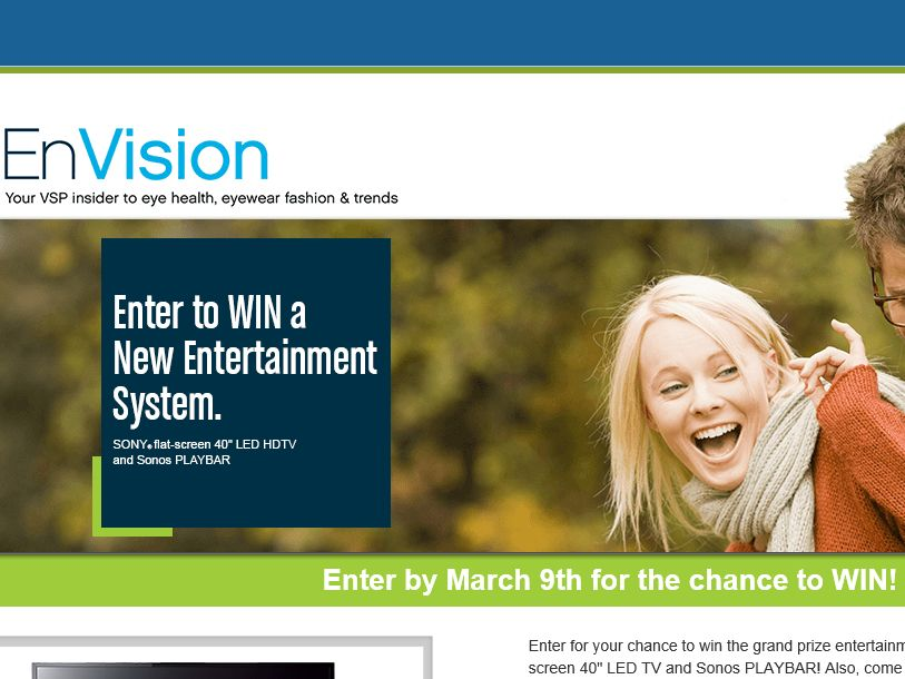 The VSP EnVision Sweepstakes