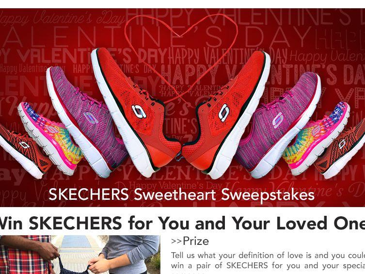 The SKECHERS Sweetheart Sweepstakes