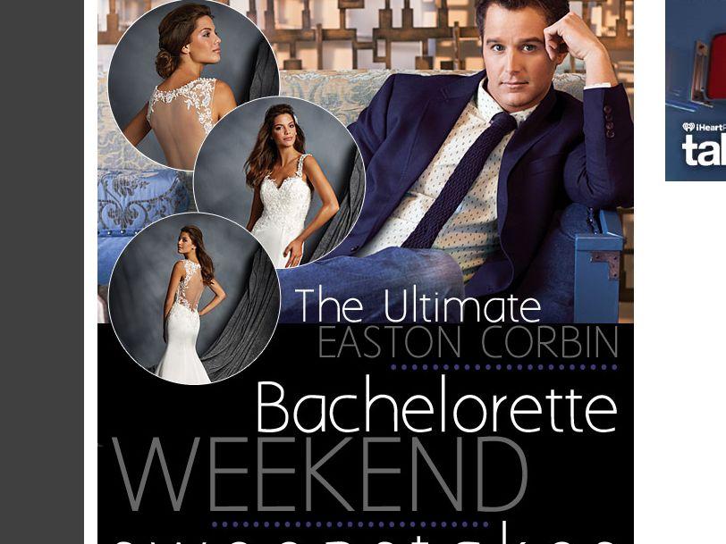 The Ultimate Easton Corbin Bachelorette Weekend Sweepstakes