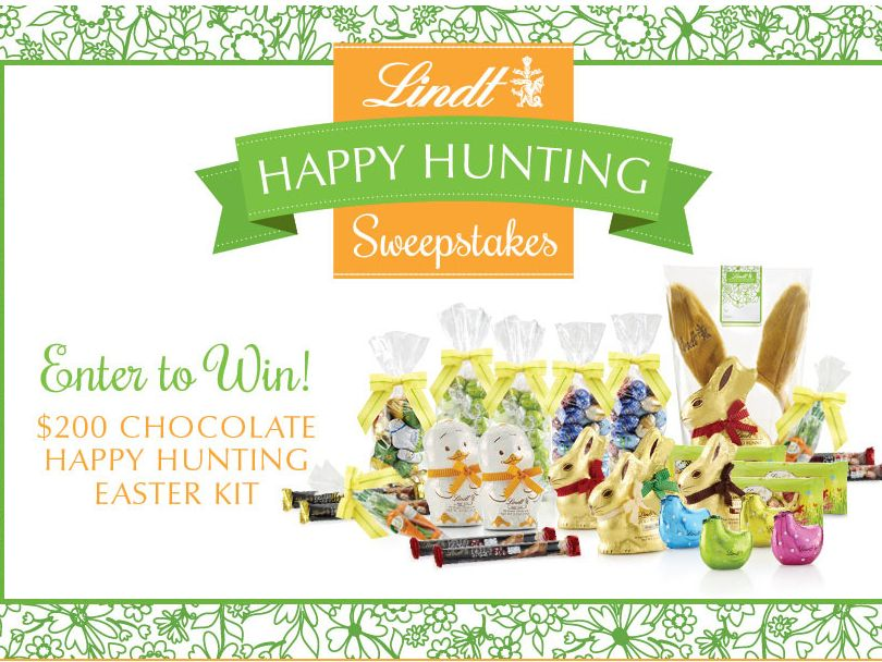 Lindt Happy Hunting Sweepstakes