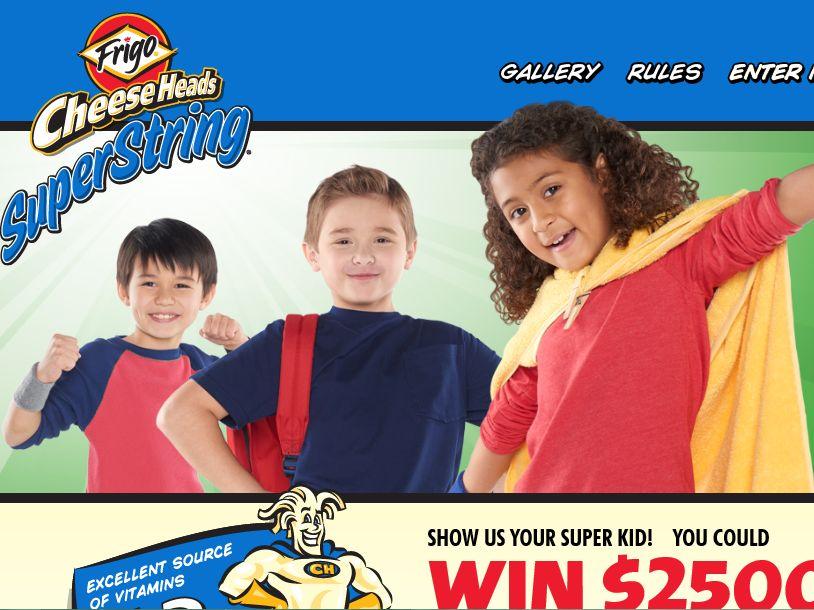 The Saputo Cheese USA Inc. Frigo Cheese Heads Super Kid Sweepstakes