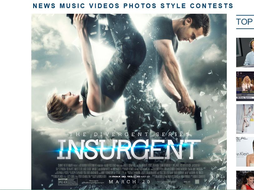 Ryan Seacrest's The Divergent Series: Insurgent Premiere Sweepstakes