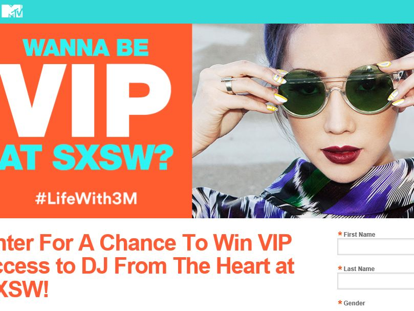 The 3M Music Experience Sweepstakes