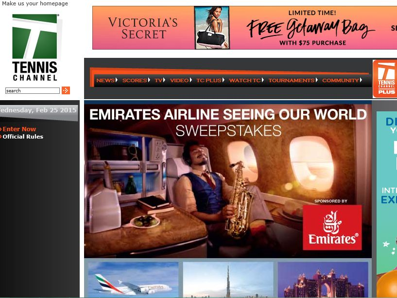 The Emirates Airline Seeing Our World Sweepstakes