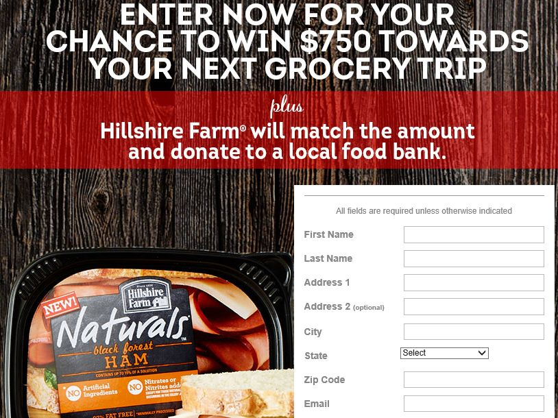 """All You, Hillshire Farms """"Naturally Delicious"""" Sweepstakes"""