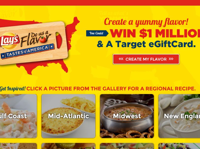 LAY'S Do Us A Flavor Tastes of America Contest