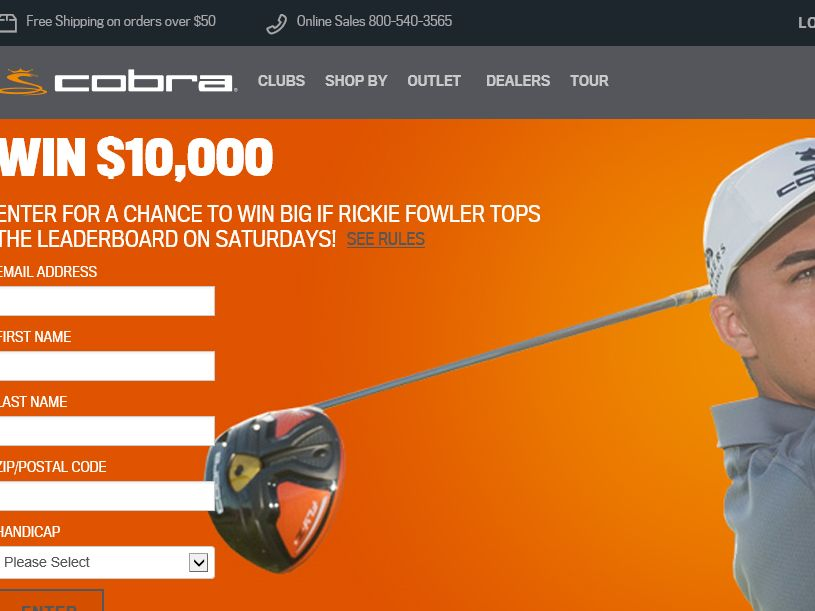 COBRA Moving Day $10k Giveaway Sweepstakes