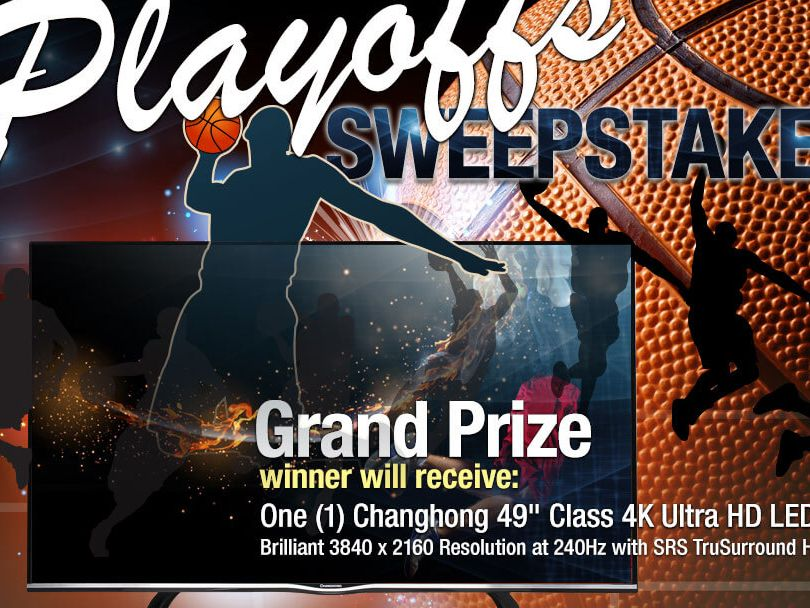 The NeweggFlash Playoffs Sweepstakes