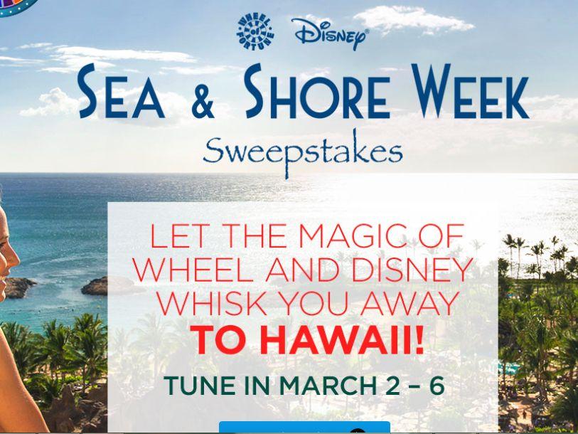 The Disney Sea & Shore Sweepstakes