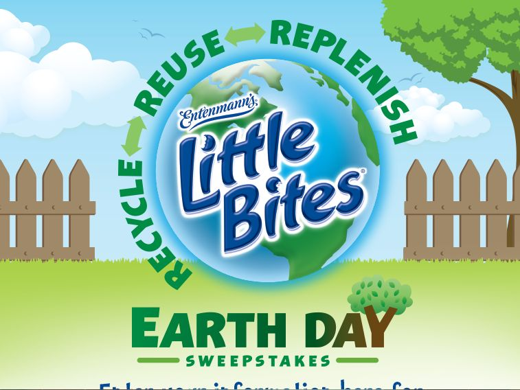 Entenmann's Little Bites Earth Day Sweepstakes