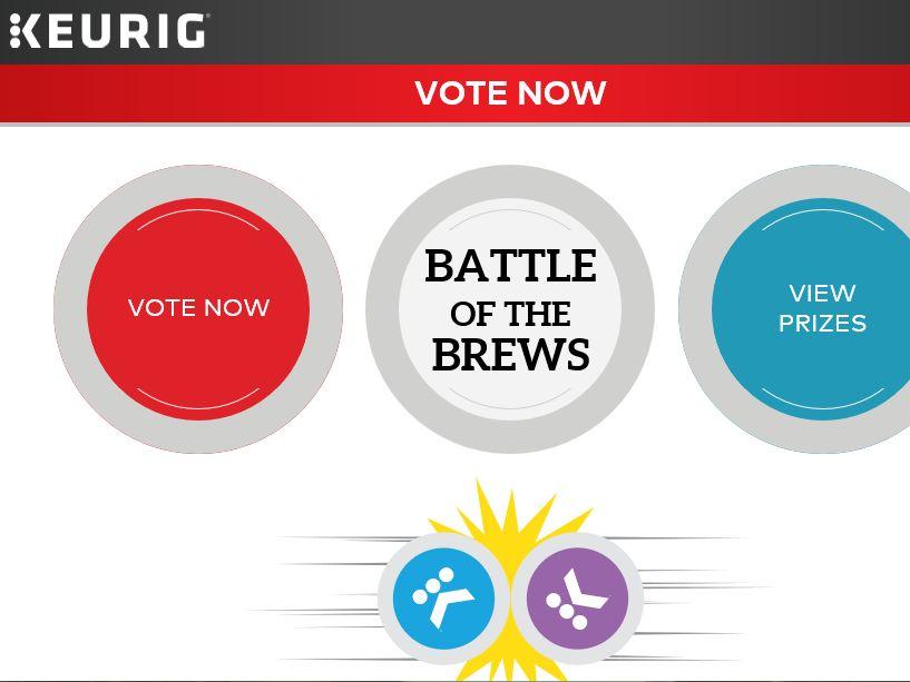 Keurig 'Battle of the Brews' Sweepstakes