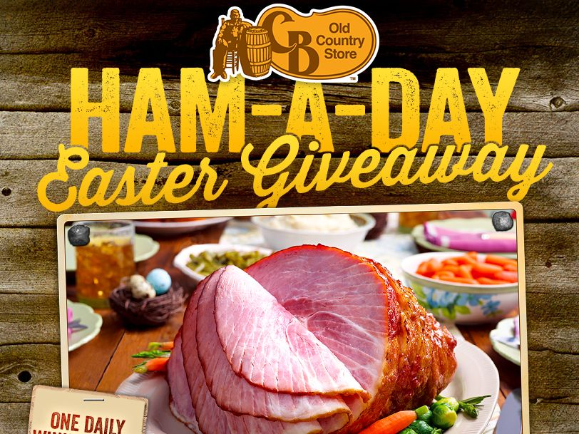 The CB Old Country Store Ham-A-Day Easter Giveaway