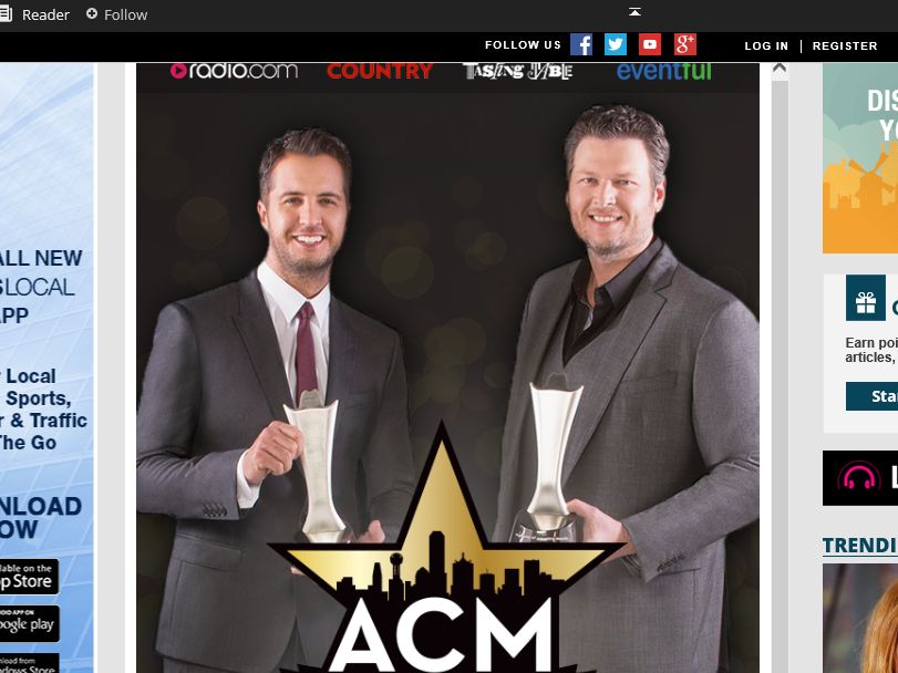 The Academy of Country Music Awards Sweepstakes