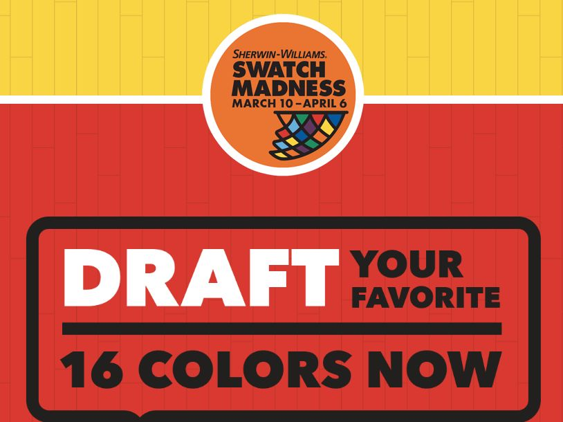 The Sherwin-Williams Company Swatch Madness Sweepstakes