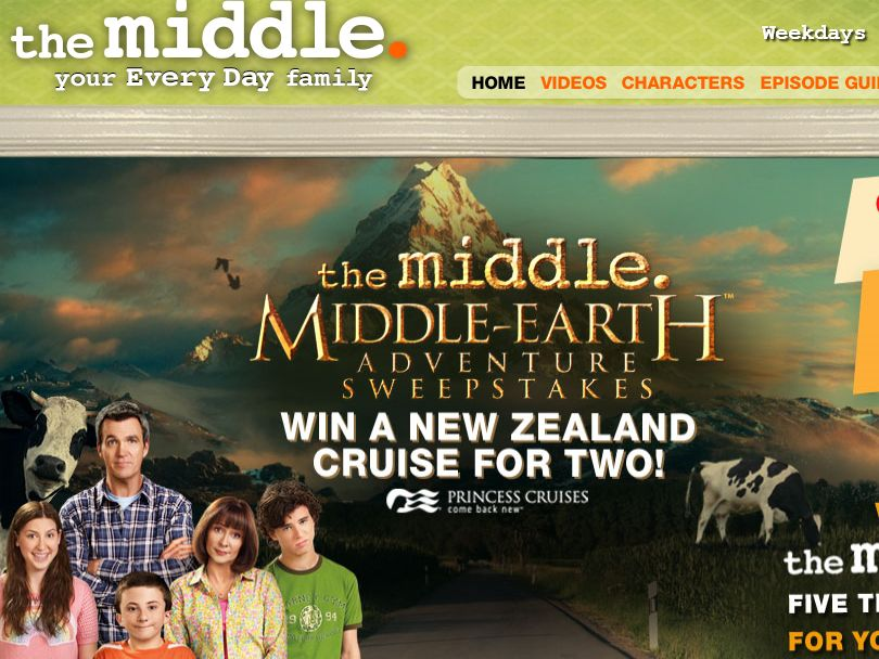 The Middle's Middle Earth Sweepstakes