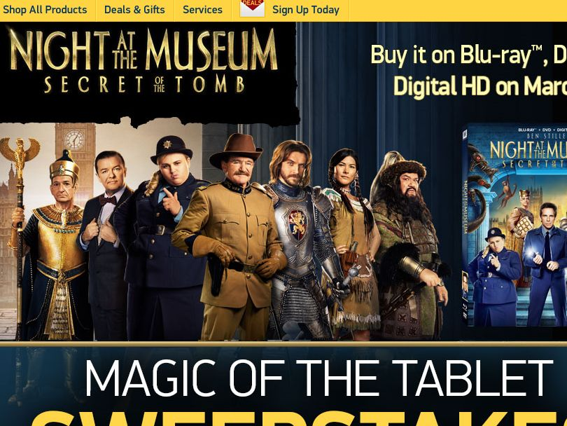 TigerDirect's Magic of the Tablet Sweepstakes