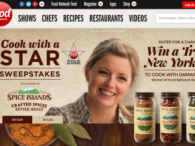 Spice Islands Cook with a Star Sweepstakes