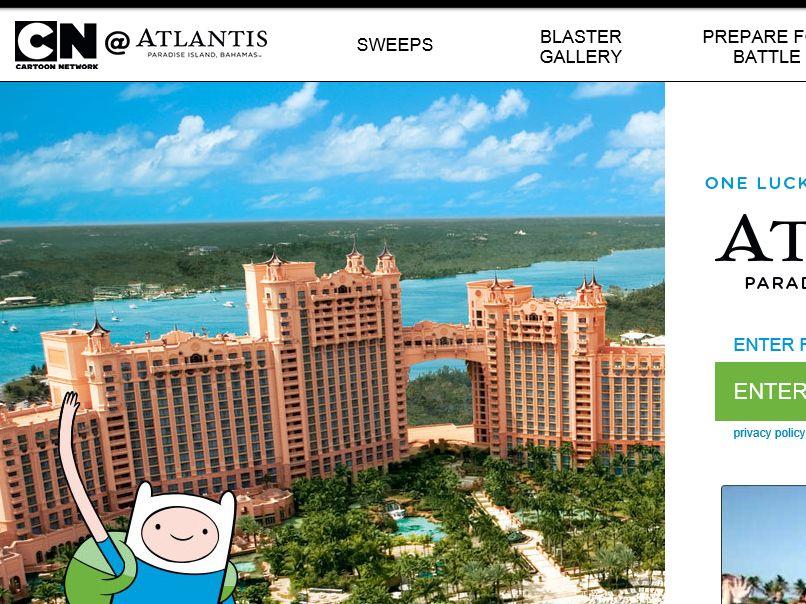 The Cartoon Network Atlantis Sweepstakes