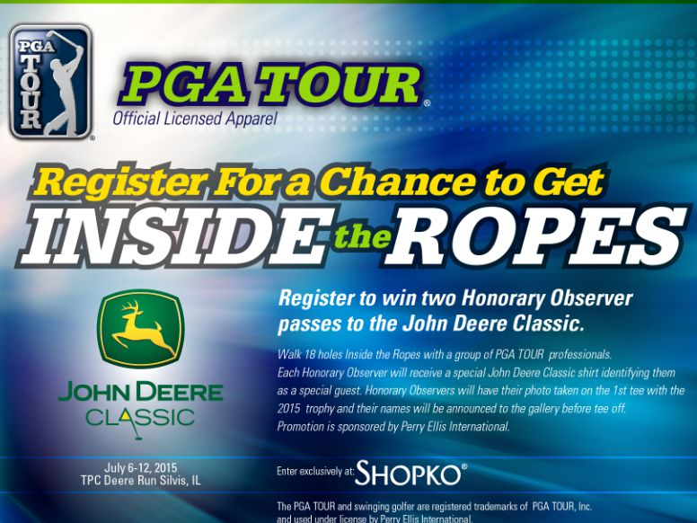 Shopko Between the Ropes Sweepstakes