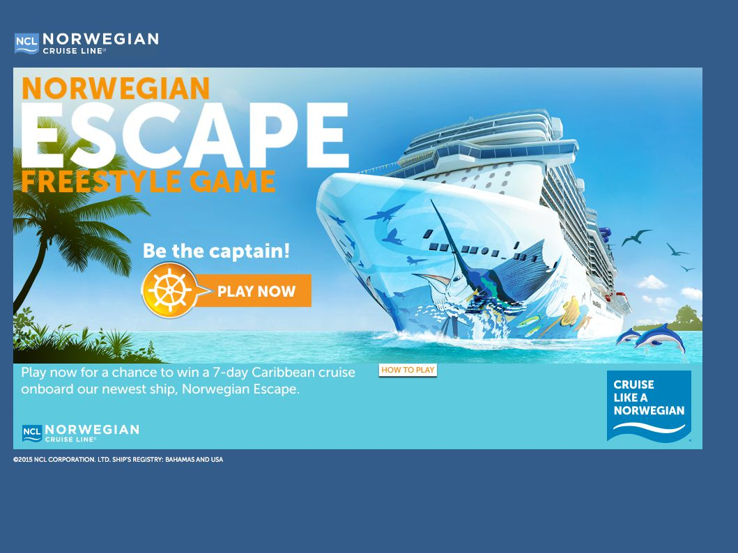Norwegian's Escape Game Sweepstakes