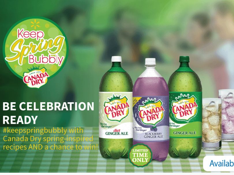 The #keepspringbubbly Sweepstakes