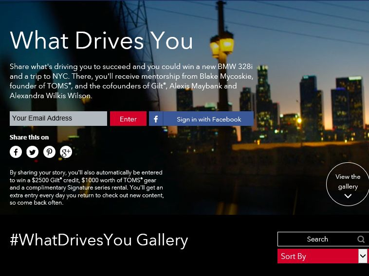 Avis What Drives You Contest & Sweepstakes