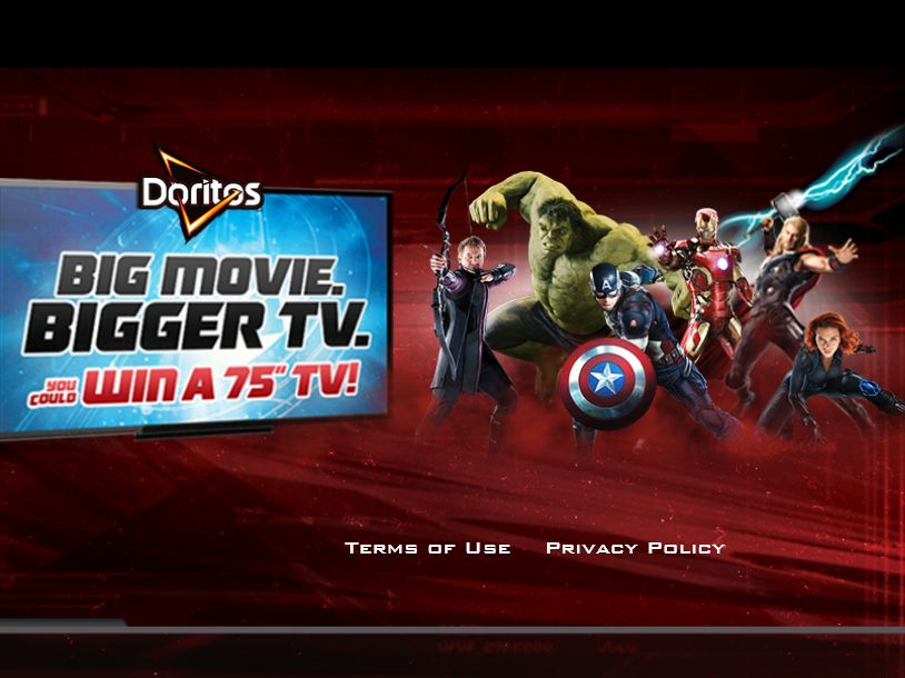 DORITOS Assemble The Avengers Sweepstakes