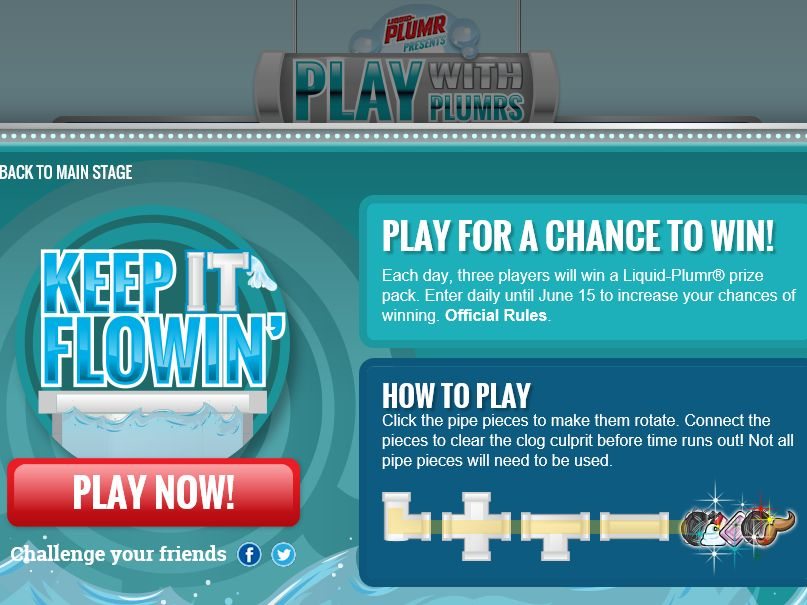 Liquid-Plumr Grand Finale Sweepstakes