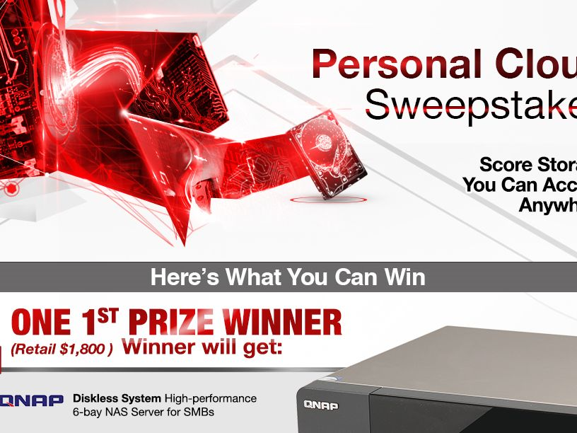 The Newegg Your Personal Cloud Sweepstakes