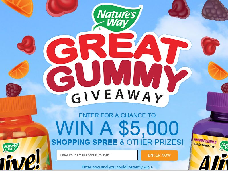 The Great Gummy Giveaway
