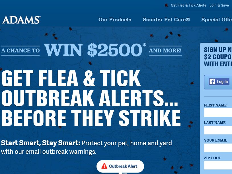 The Adams Start Smart, Stay Smart Sweepstakes