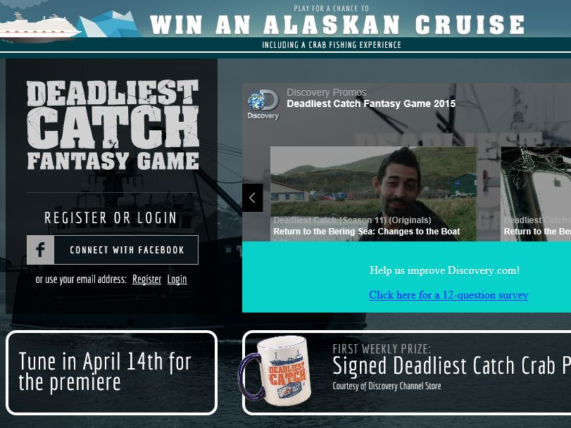 The Deadliest Catch Fantasy Game