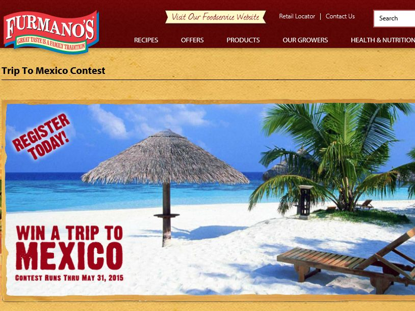 The Furmano's Trip To Mexico Contest