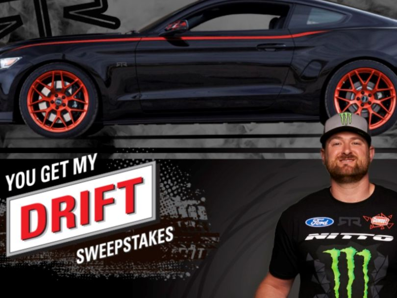 Black Magic/Gumout You Get My Drift – Ford Mustang RTR Sweepstakes