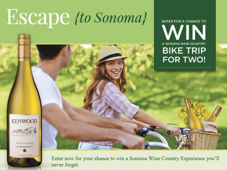 The Kenwood Escape to Sonoma Sweepstakes