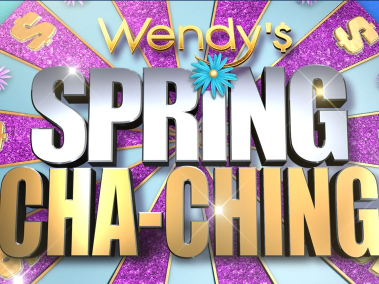 Wendy's Spring Cha-Ching Sweepstakes