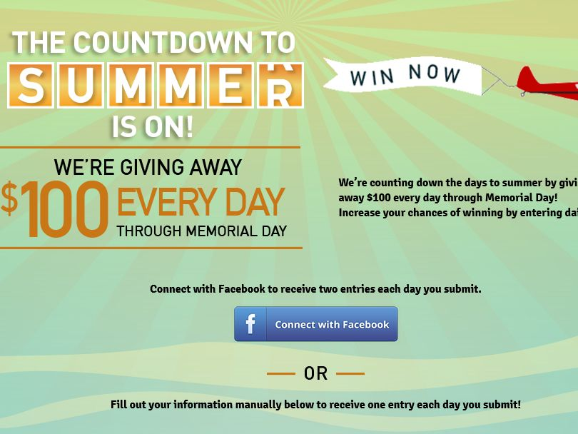 American Media The Countdown To Summer Sweepstakes