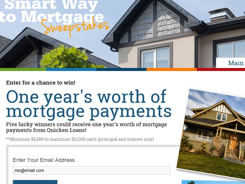 The Quicken Loans Smart Way to Mortgage Sweepstakes